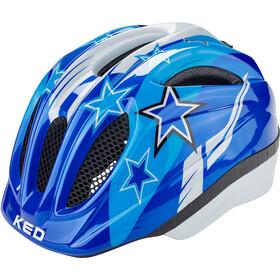KED Meggy Kypärä Lapset, blue stars
